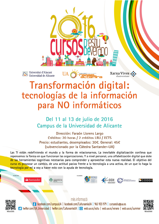 Curso UA Transformacion Digital 2016